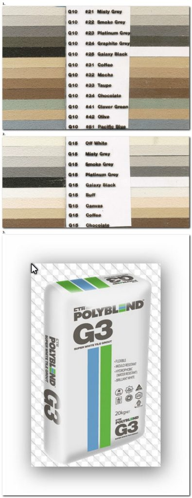 Cta Grout Colour Chart Tile Grout Online