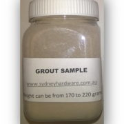 Laticrete Grout sample
