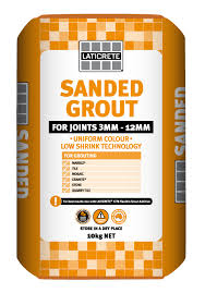Laticrete sanded grout